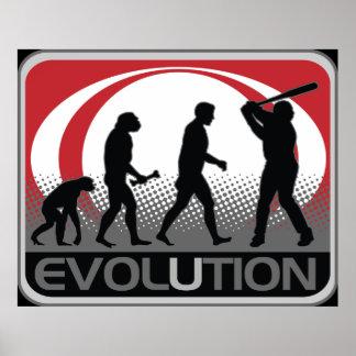 Evolution Baseball Posters
