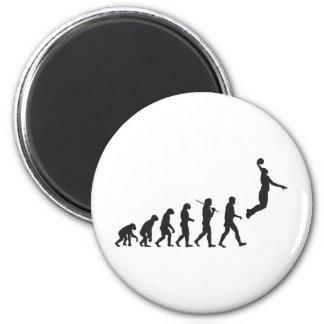 Evolution - Basketball Jump 6 Cm Round Magnet