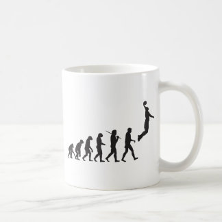 Evolution - Basketball Jump Coffee Mug