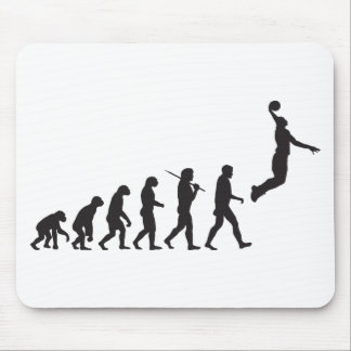 Evolution - Basketball Jump Mouse Pad