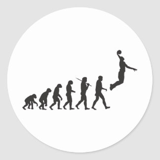 Evolution - Basketball Jump Sticker