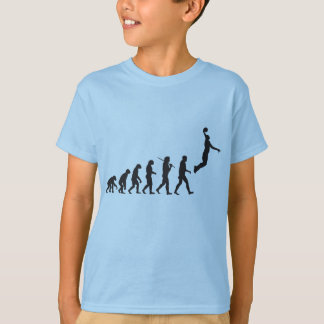 Evolution - Basketball Jump T-Shirt