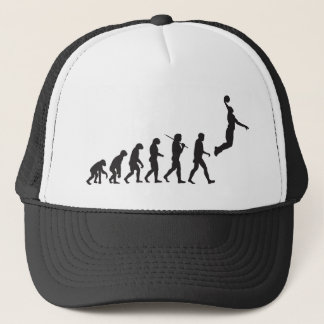 Evolution - Basketball Jump Trucker Hat