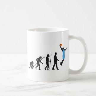 evolution basketball more player basic white mug