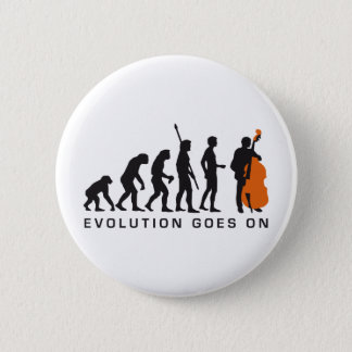 evolution bass 6 cm round badge