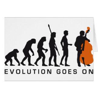 evolution bass card
