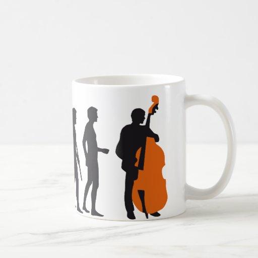 evolution bass coffee mug