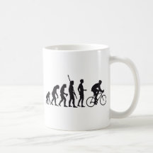 evolution bicycle teetasse