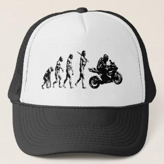 evolution bike trucker hat