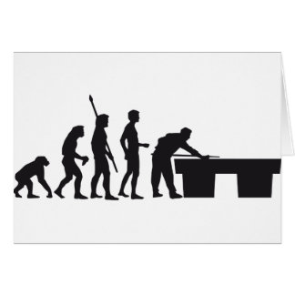 evolution billard card