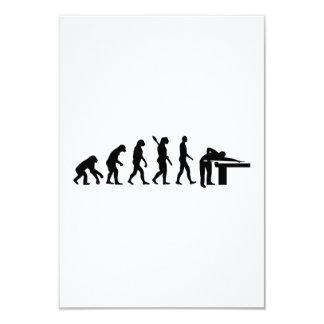 Evolution Billiards Custom Invitations