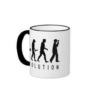 Evolution: Birder Ringer Mug
