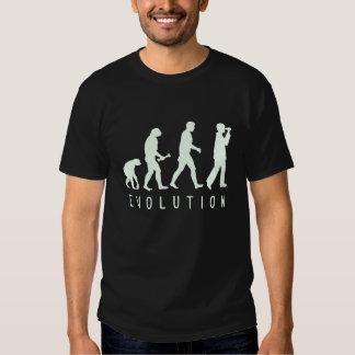 Evolution: Birder T-shirts