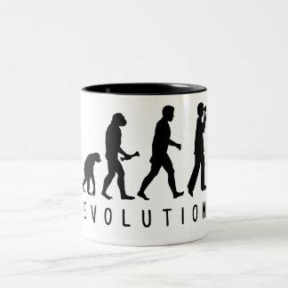 Evolution: Birder Two-Tone Mug