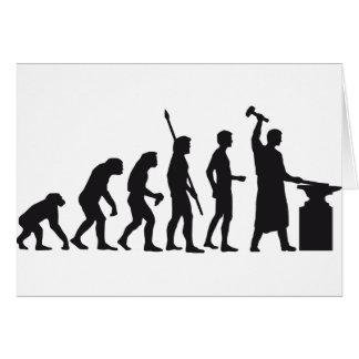 evolution blacksmith card