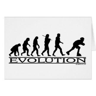 Evolution Blading Card