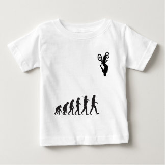 Evolution - BMX Bike Flip Baby T-Shirt