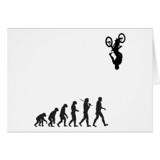 Evolution - BMX Bike Flip Greeting Cards