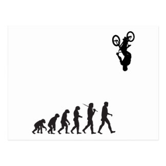 Evolution - BMX Bike Flip Postcard