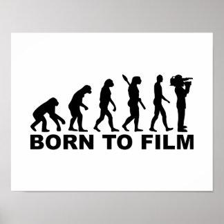 Evolution Born to film Poster