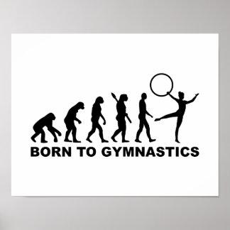 Evolution Born to Gymnastics Poster