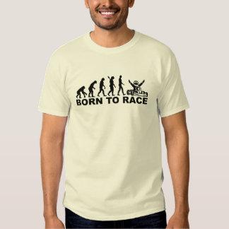 Evolution born to race Kart Tshirt