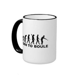 Evolution Boule Petanque Ringer Mug