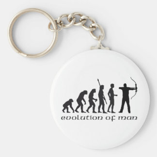 evolution bow and arrow key ring