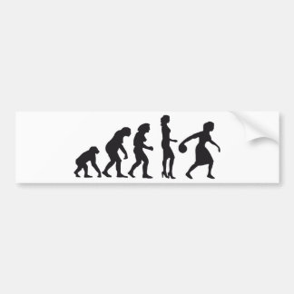 Evolution Bowlerin 1c Bumper Sticker
