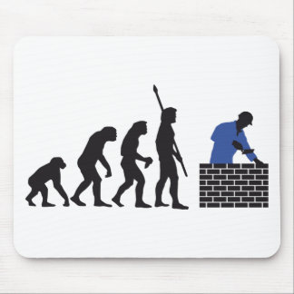 Evolution bricklayer A 2C Mouse Mat