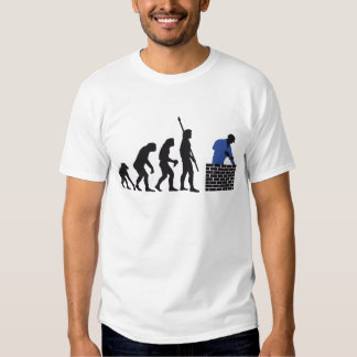 Evolution bricklayer A 2C Tee Shirts