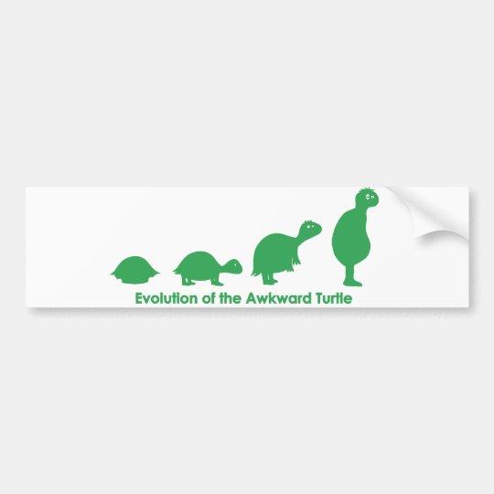Evolution Bumper Sticker