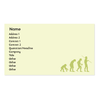 Evolution - Business Pack Of Standard Business Cards