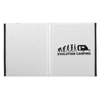 Evolution camping caravan iPad folio covers