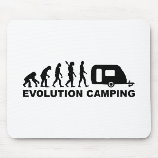 Evolution camping caravan mouse pads