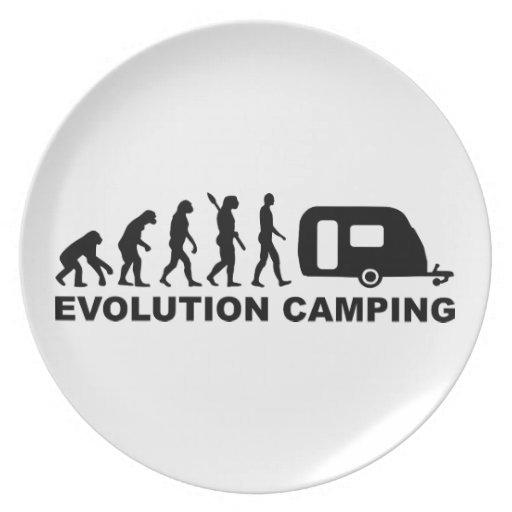 Evolution camping caravan plate