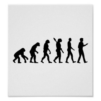 Evolution Cell Smartphone Poster