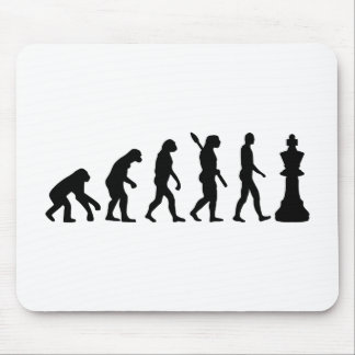 Evolution Chess king Mouse Mat