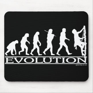 Evolution - Climbing Mouse Pad