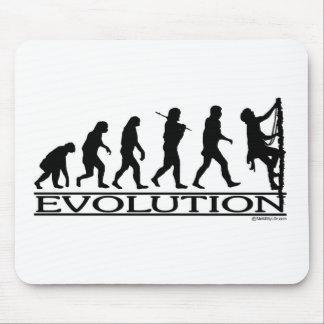Evolution - Climbing Mouse Pad