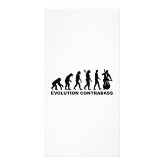 Evolution Contrabass Picture Card