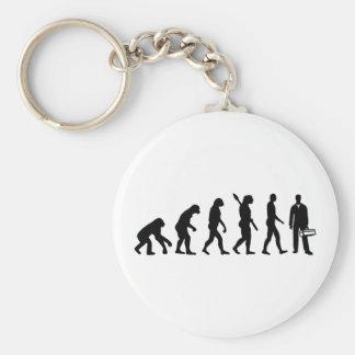 Evolution Craftsman Basic Round Button Key Ring