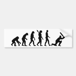 Evolution Cricket Bumper Sticker
