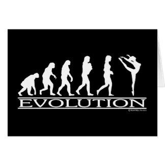 Evolution - Dance Card