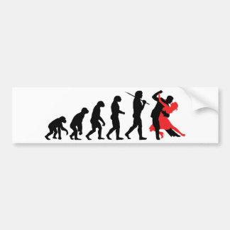 Evolution - Dancing Bumper Stickers