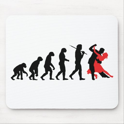 Evolution - Dancing Mouse Pad