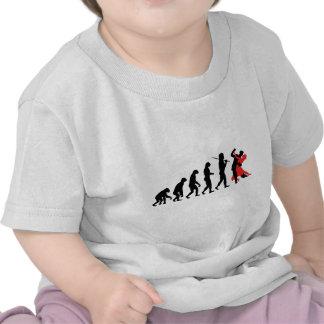 Evolution - Dancing T-shirts