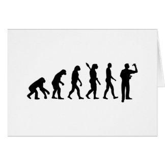 Evolution Darts Card