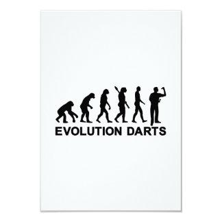 Evolution Darts Invitation
