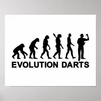 Evolution Darts Poster